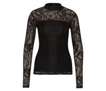 Spitzenshirt 'Angelica' schwarz