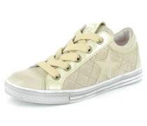 Sneaker Textil gold