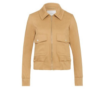 Cropped Jacket hellbeige