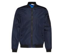 Leichte Jacke dunkelblau / schwarz