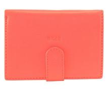 Liv 119 Geldbörse Leder 10 cm orangerot