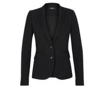 Eleganter Jersey-Blazer schwarz