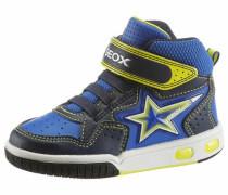 Sneaker navy / gelb