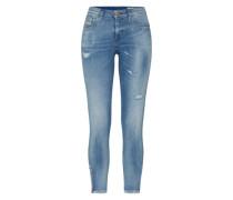 'skinzee-Zip' Skinny Jeans blau
