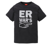 """T-Shirt """"Er war""""s""""; für Jungen schwarz"""