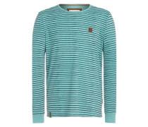 Sweatshirt 'Kommt ein Dünnschiss' blau