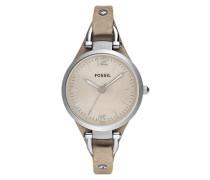 """Armbanduhr """"georgia Es2830"""" beige"""