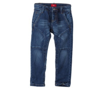Brad: Jeans im Biker-Look blau