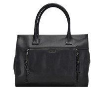 Rachelle Shopper Leder 36 cm schwarz