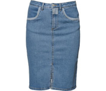 Jeansrock 'VIEscape' blue denim