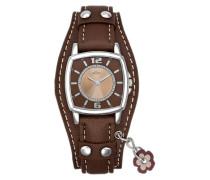 "Armbanduhr ""so-1943-Lq"" braun / silber"