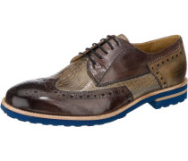 Johnny 1 Freizeit Schuhe braun / grau