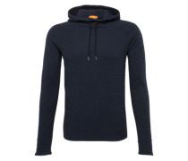 Sweatshirt mit Kapuze 'Wut' blaumeliert