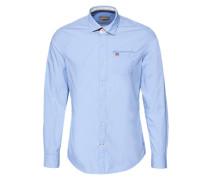 Hemd 'Griogy' blau