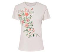 Print T-Shirt weiß