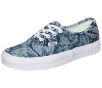 Authentic Indigo Tropical Sneaker blau