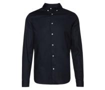Hemd 'Basic B.d. Shirt' schwarz