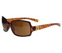 Sonnenbrille Tortoise braun