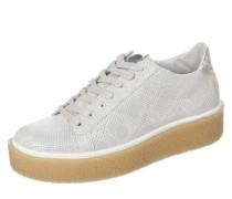 Sneaker 'Pampa' hellgrau / silber / weiß