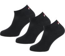 Sneaker Socken (3 Paar) schwarz