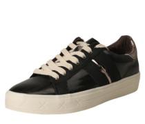 Sneaker mit dicker Sohle schwarz