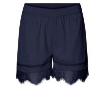 Spitzen-Shorts NW blau