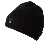 Mütze mit Fleece-Futter schwarz