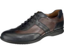 'Bernard' Freizeit Schuhe braun / schwarz