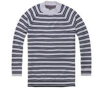 Pullover ´thdw CN Stripe Tunic L/S 15´ schwarz / weiß