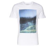 T-Shirt 'shxcompact White SS O-Neck Tee' weiß
