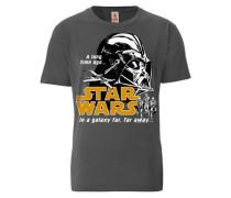 """T-Shirt """"Krieg der Sterne"""" grau"""