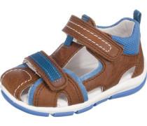 Kinder Sandalen WMS-Weite M4 blau / braun