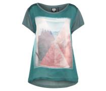 T-Shirt 'wild Woods' tanne / mischfarben
