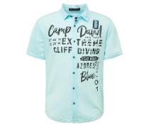Hemd blau / türkis