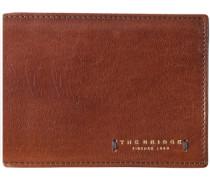 Passpartout Uomo Geldbörse Leder 13 cm karamell