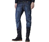 Slim-fit-Jeans »arc 3d slim« blue denim