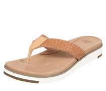 Sandale 'Lorrie' braun