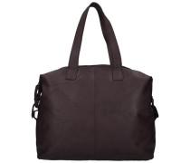 Bronco Shopper Tasche Leder 32 cm dunkelbraun