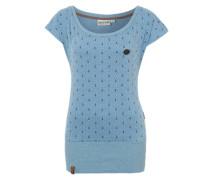 T-Shirt 'Wolle Ankerdizzel II' blau