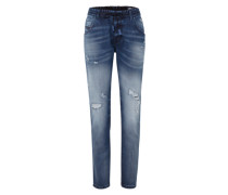 'Krailey-NE' Joggjeans Boyfriend Fit 0684W blue denim