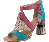Sandalette mischfarben