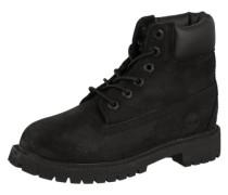 Schnürstiefel 'Premium Boot' schwarz