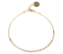 Armband 'Rocaille Mix' gold