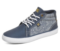 Sneaker 'Mid Shoe Council Mid Suede' blau