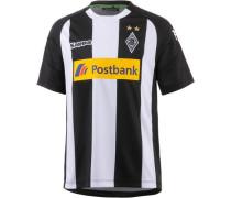'Borussia Mönchengladbach 17/18' Auswärts Fußballtrikot Kinder schwarz / weiß