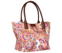 Miri Summer Shopper Tasche 43 cm orange / pink