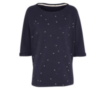 Sweatshirt 'Elisa Mini Ginkgos' navy