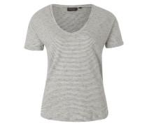 T-Shirt 'beata' schwarz / weiß