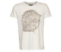 T-Shirt 'Tayk' weiß