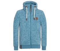 Zipped Jacket Der Gedudelte III hellblau